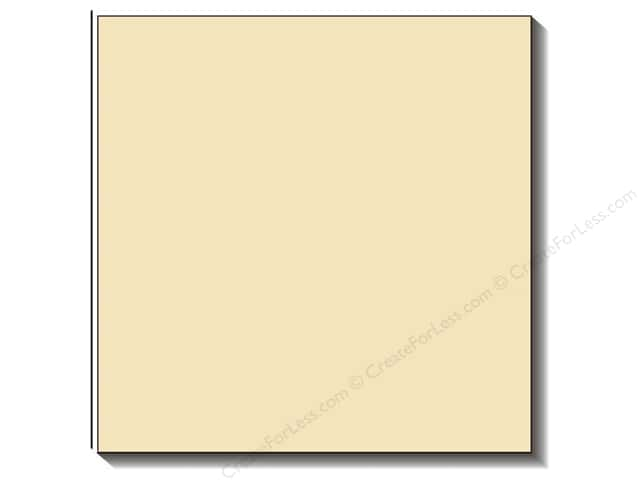 Bazzill 12 x 12 in. Cardstock Criss Cross Cream Puff (25 sheets)
