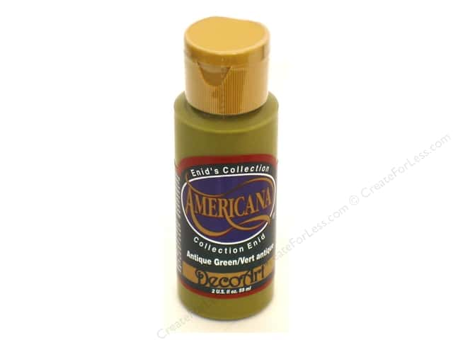DecoArt Americana Acrylic Paint 2 oz. #147 Antique Green