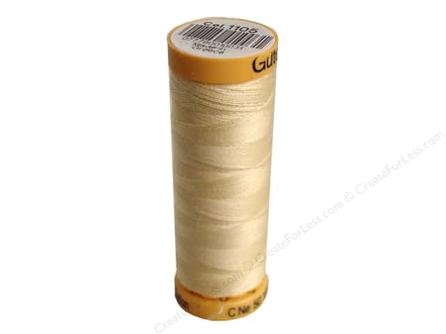 Gutermann 100% Natural Cotton Sewing Thread 109 yd. #1105 Cream
