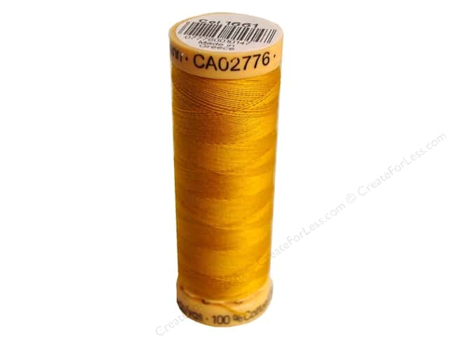 Gutermann 100% Natural Cotton Sewing Thread 109 yd. #1661 Pumpkin