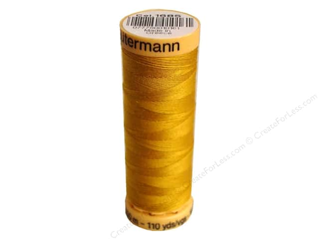 Gutermann 100% Natural Cotton Sewing Thread 109 yd. #1685 Goldenrod