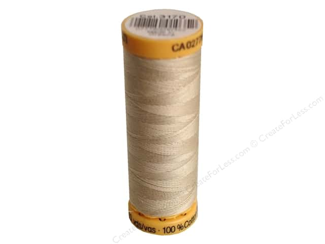 Gutermann 100% Natural Cotton Sewing Thread 109 yd. #3170 Light Beige