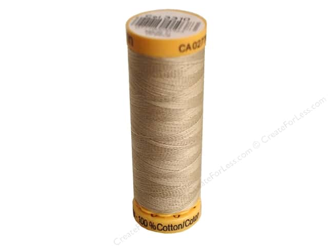 Gutermann 100% Natural Cotton Sewing Thread 109 yd. #3310 Natural
