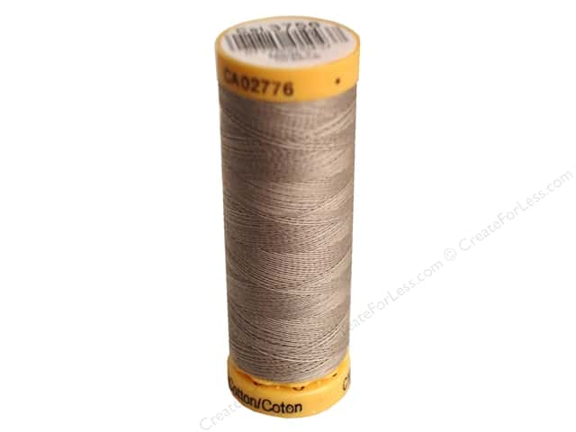 Gutermann 100% Natural Cotton Sewing Thread 109 yd. #3756 Granite