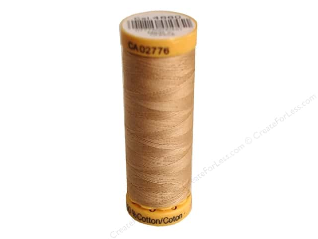 Gutermann 100% Natural Cotton Sewing Thread 109 yd. #4660 Flesh