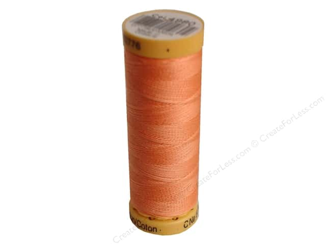 Gutermann 100% Natural Cotton Sewing Thread 109 yd. #4980 Peach