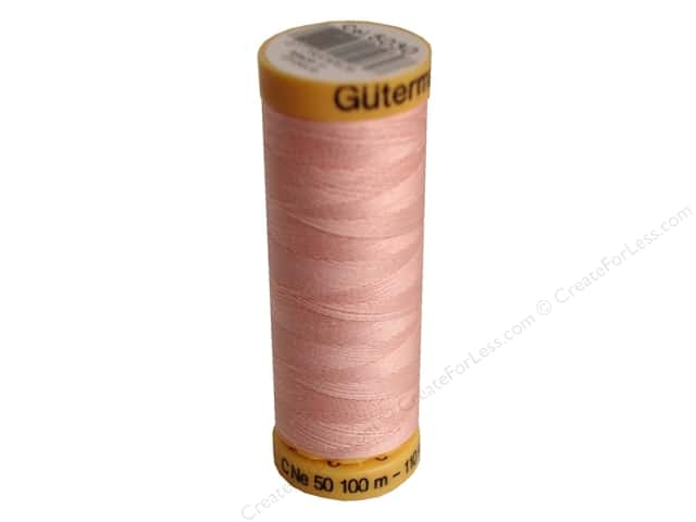 Gutermann 100% Natural Cotton Sewing Thread 109 yd. #5030 Light Pink