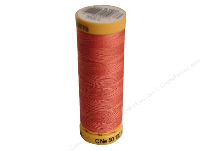 Gutermann 100% Natural Cotton Sewing Thread 109 yd. #5160 China Rose