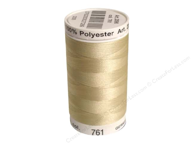 Mettler PolySheen Embroidery Thread 875 yd. #761 Oat