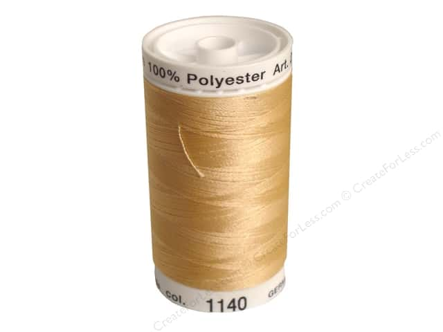 Mettler PolySheen Embroidery Thread 875 yd. #1140 Meringue