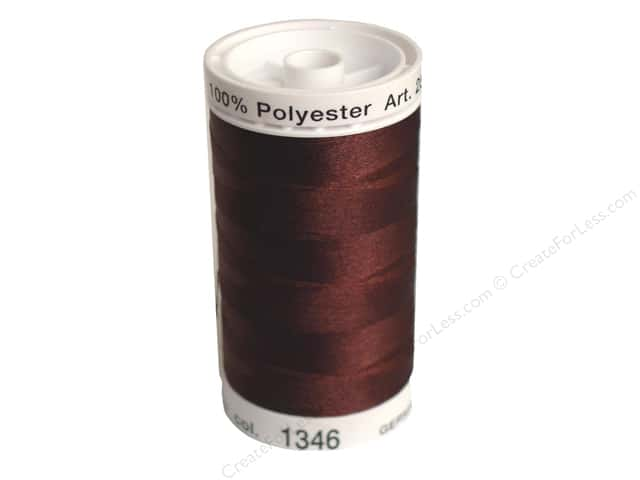Mettler PolySheen Embroidery Thread 875 yd. #1346 Cinnamon