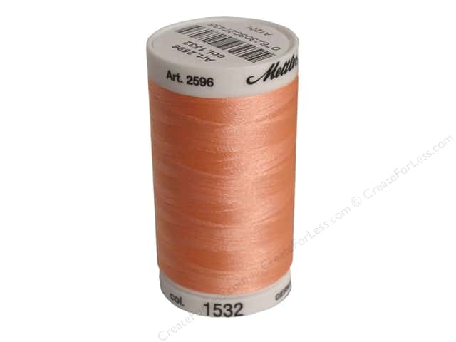 Mettler PolySheen Embroidery Thread 875 yd. #1532 Coral