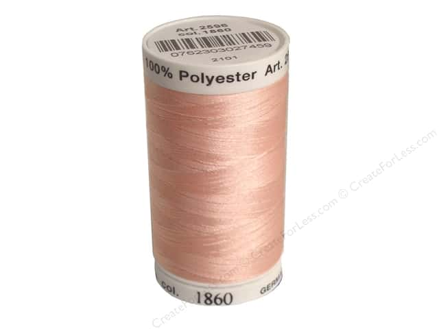 Mettler PolySheen Embroidery Thread 875 yd. #1860 Shell