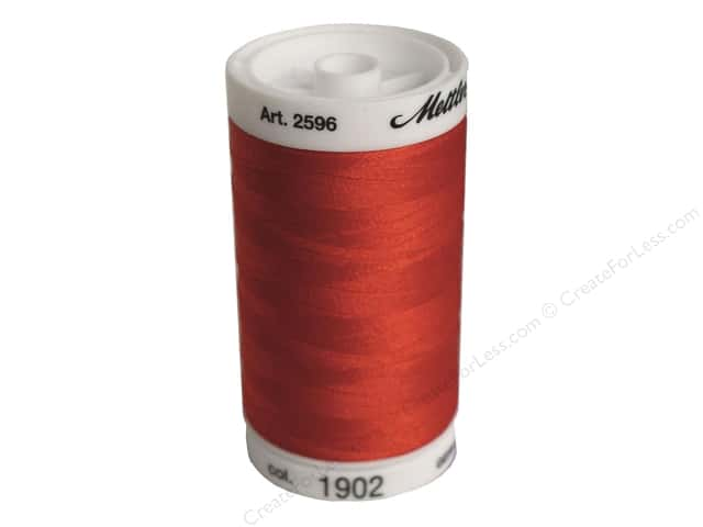 Mettler PolySheen Embroidery Thread 875 yd. #1902 Poinsettia