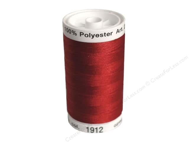 Mettler PolySheen Embroidery Thread 875 yd. #1912 Winterberry