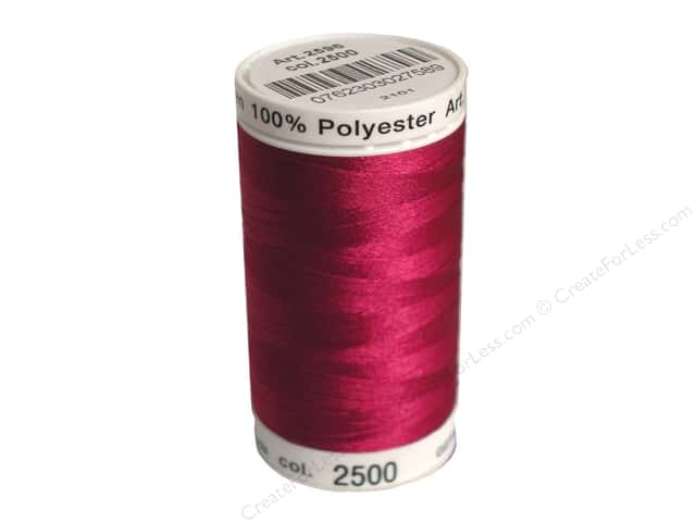 Mettler PolySheen Embroidery Thread 875 yd. #2500 Boysenberry
