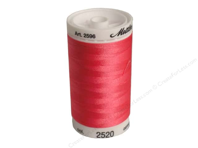 Mettler PolySheen Embroidery Thread 875 yd. #2520 Garden Rose