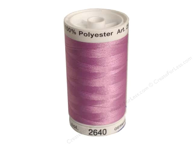 Mettler PolySheen Embroidery Thread 875 yd. #2640 Frosted Plum