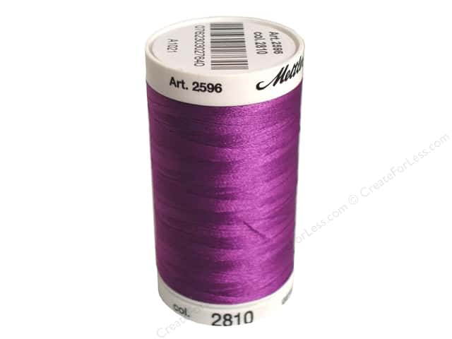 Mettler PolySheen Embroidery Thread 875 yd. #2810 Orchid
