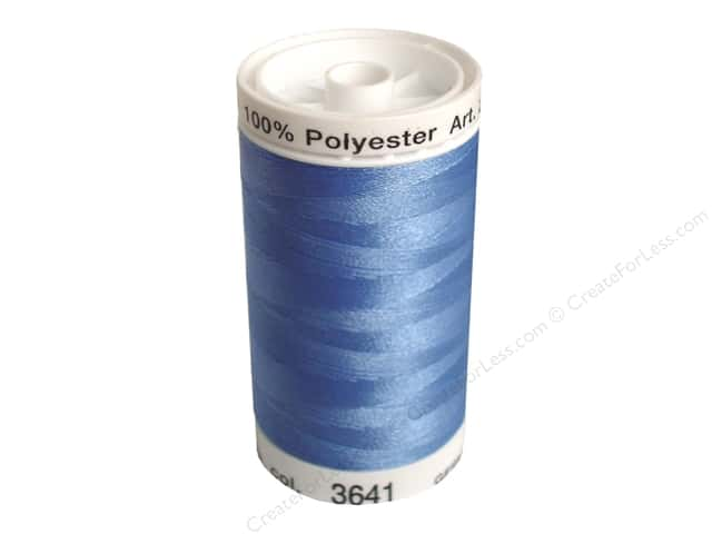 Mettler PolySheen Embroidery Thread 875 yd. #3641 Wedgewood