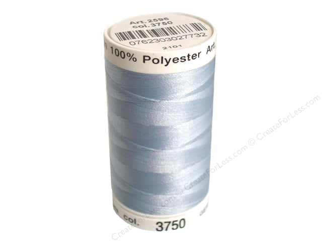 Mettler PolySheen Embroidery Thread 875 yd. #3750 Winter Frost