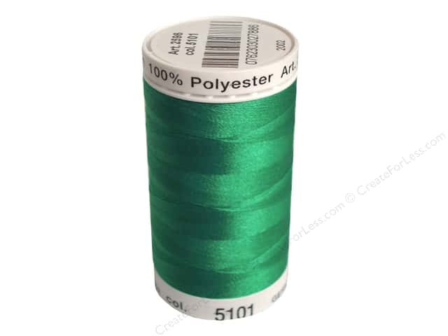 Mettler PolySheen Embroidery Thread 875 yd. #5101 Dark Jade