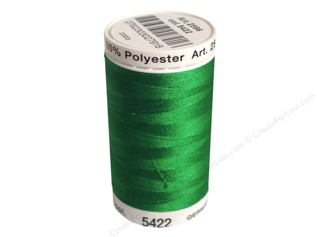 Mettler PolySheen Embroidery Thread 875 yd. #5422 Swiss Ivy