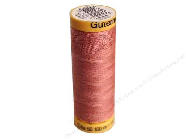 Gutermann 100% Natural Cotton Sewing Thread 109 yd. #5310 Mauve
