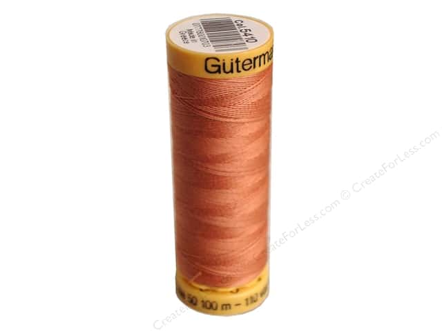 Gutermann 100% Natural Cotton Sewing Thread 109 yd. #5410 Almond Pink