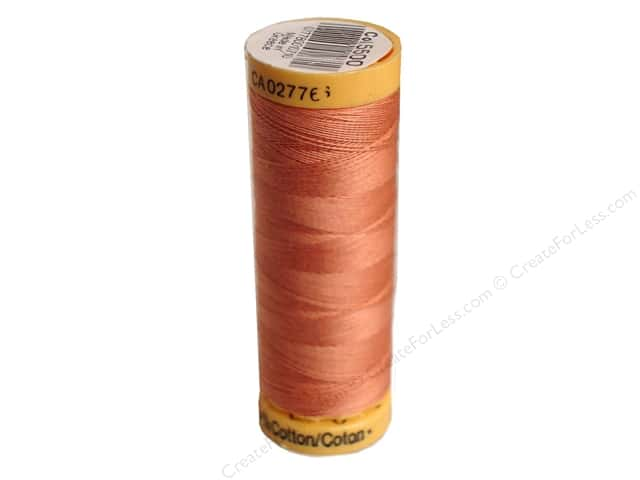 Gutermann 100% Natural Cotton Sewing Thread 109 yd. #5500 Coral Rose