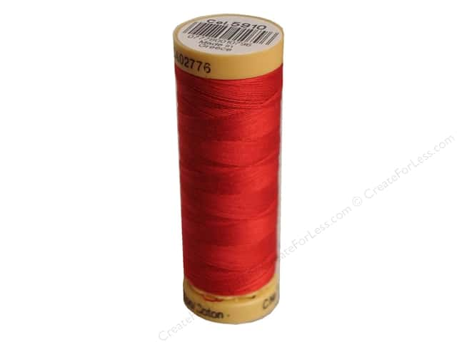 Gutermann 100% Natural Cotton Sewing Thread 109 yd. #5910 Cherry