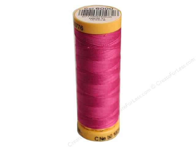 Gutermann 100% Natural Cotton Sewing Thread 109 yd. #6000 Rose Orchid