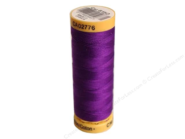 Gutermann 100% Natural Cotton Sewing Thread 109 yd. #6150 Grape