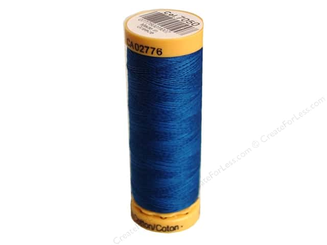 Gutermann 100% Natural Cotton Sewing Thread 109 yd. #7050 Blue