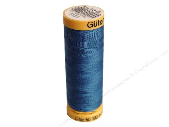 Gutermann 100% Natural Cotton Sewing Thread 109 yd. #7315 Azure