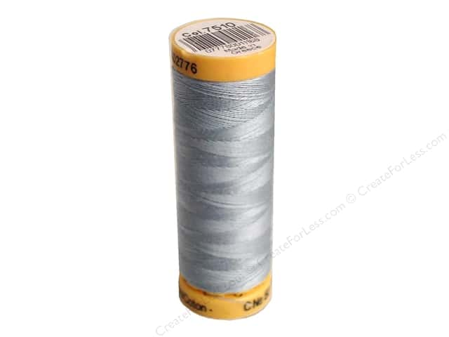 Gutermann 100% Natural Cotton Sewing Thread 109 yd. #7510 Misty Blue