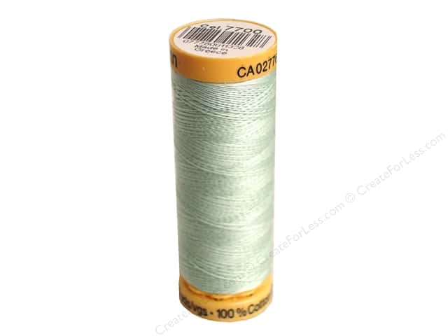 Gutermann 100% Natural Cotton Sewing Thread 109 yd. #7700 Pale Green