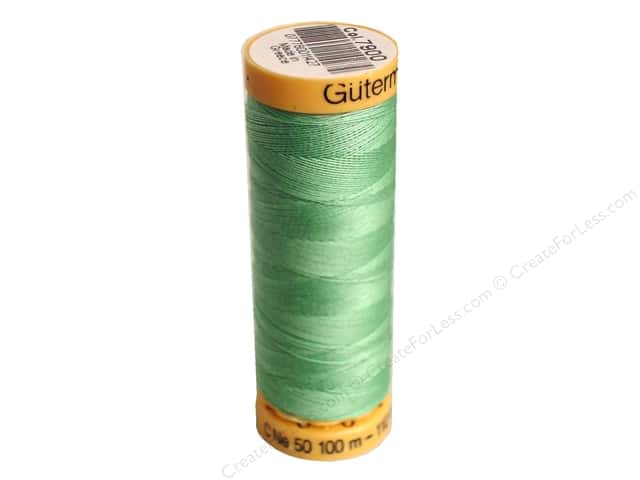 Gutermann 100% Natural Cotton Sewing Thread 109 yd. #7900 Cloudy Jade