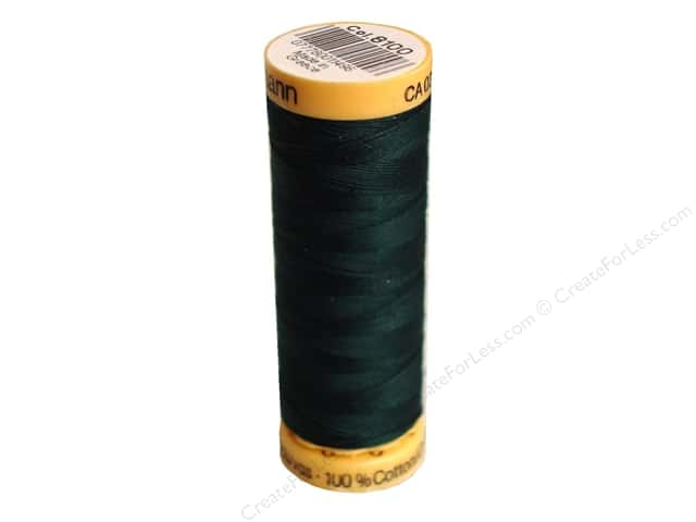 Gutermann 100% Natural Cotton Sewing Thread 109 yd. #8100 Dark Spinach