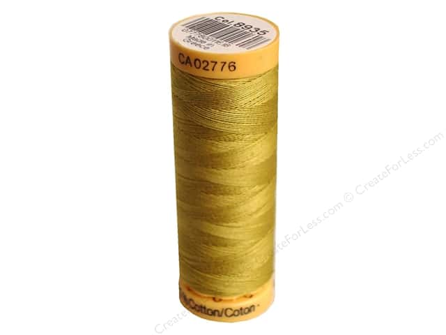 Gutermann 100% Natural Cotton Sewing Thread 109 yd. #8935 Yellowstone
