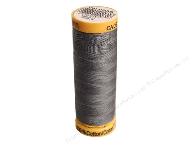 Gutermann 100% Natural Cotton Sewing Thread 109 yd. #9280 Steel