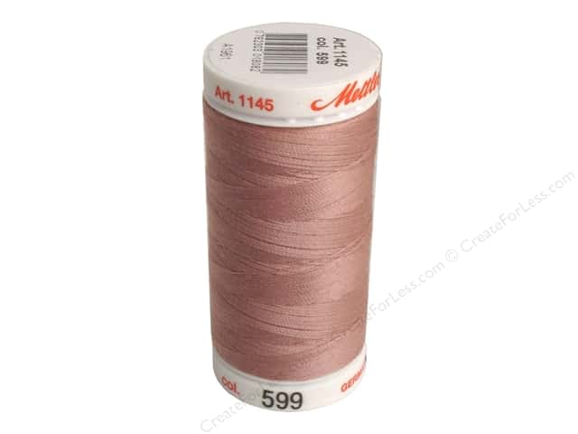 Mettler Metrosene All Purpose Thread 547 yd. #599 Soft Mauve