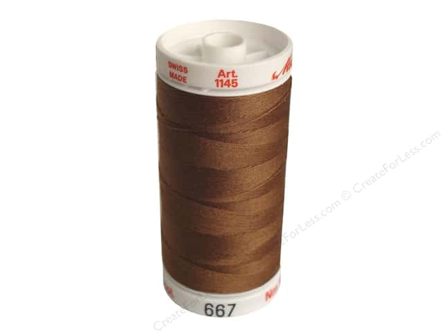 Mettler Metrosene All Purpose Thread 547 yd. #667 Mocha Brown