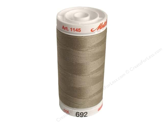Mettler Metrosene All Purpose Thread 547 yd. #692 Praline