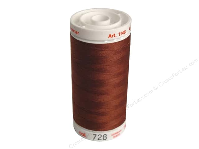 Mettler Metrosene All Purpose Thread 547 yd. #728 Paprika