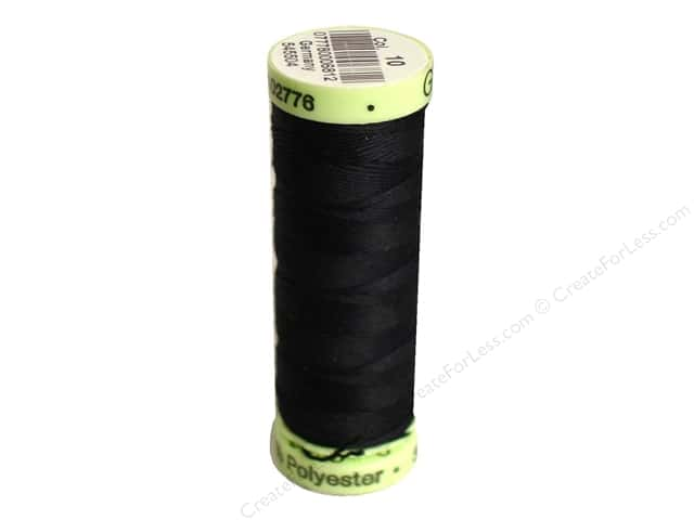 Gutermann Top Stitch Heavy Duty Thread 33 yd. #10 Black