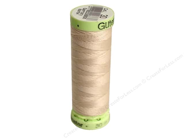 Gutermann Top Stitch Heavy Duty Thread 33 yd. #30 Bone