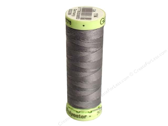 Gutermann Top Stitch Heavy Duty Thread 33 yd. #114 Greymore