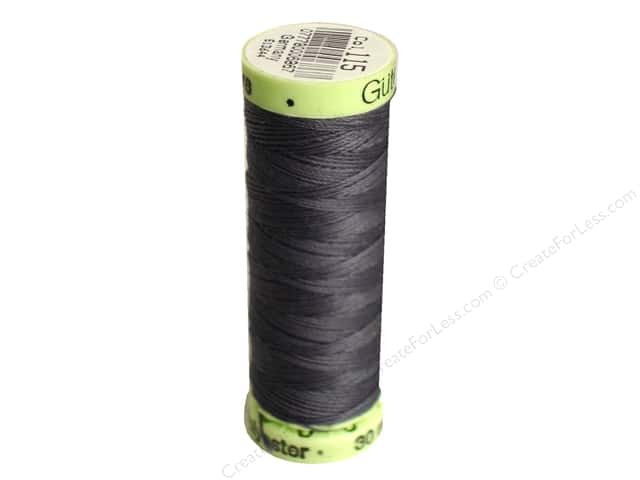 Gutermann Top Stitch Heavy Duty Thread 33 yd. #115 Rail Grey