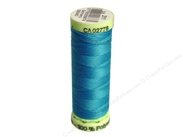 Gutermann Top Stitch Heavy Duty Thread 33 yd. #211 True Blue
